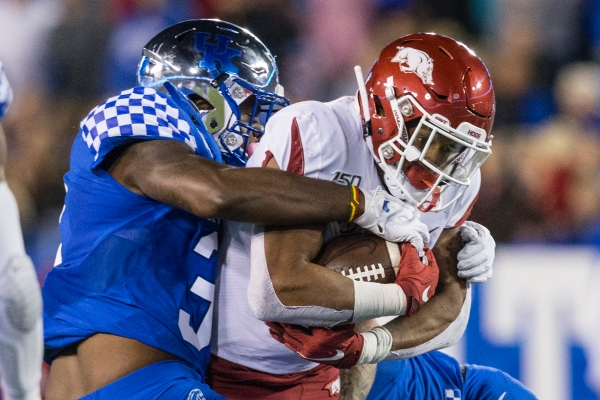 Failure to finish: Hogs hampered by red-zone woes