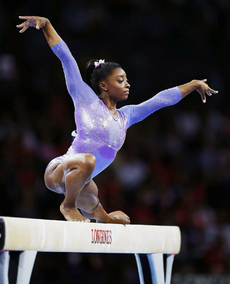 Biles positioned as face of 2020 Olympics