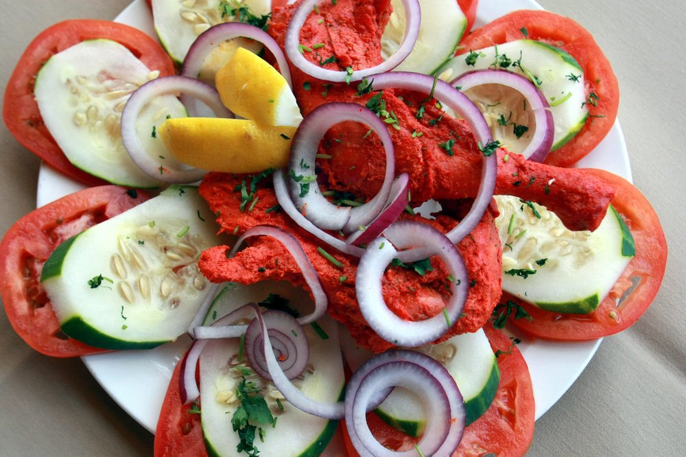 Tandoori chicken at Little Rock's Taj Mahal Indian Kitchen. Democrat-Gazette file photo