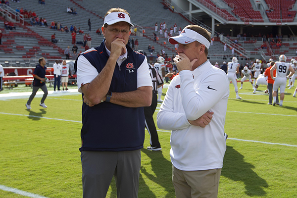 King: Arkansas, Auburn have similar task this week