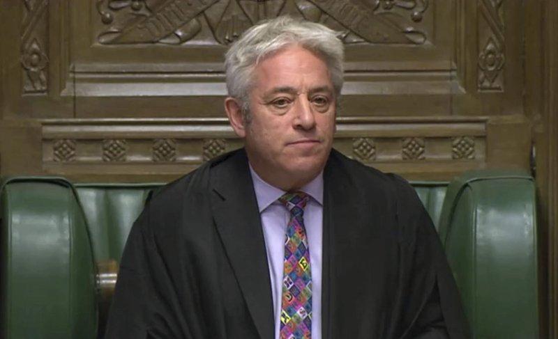 U.K. Commons speaker deals new...