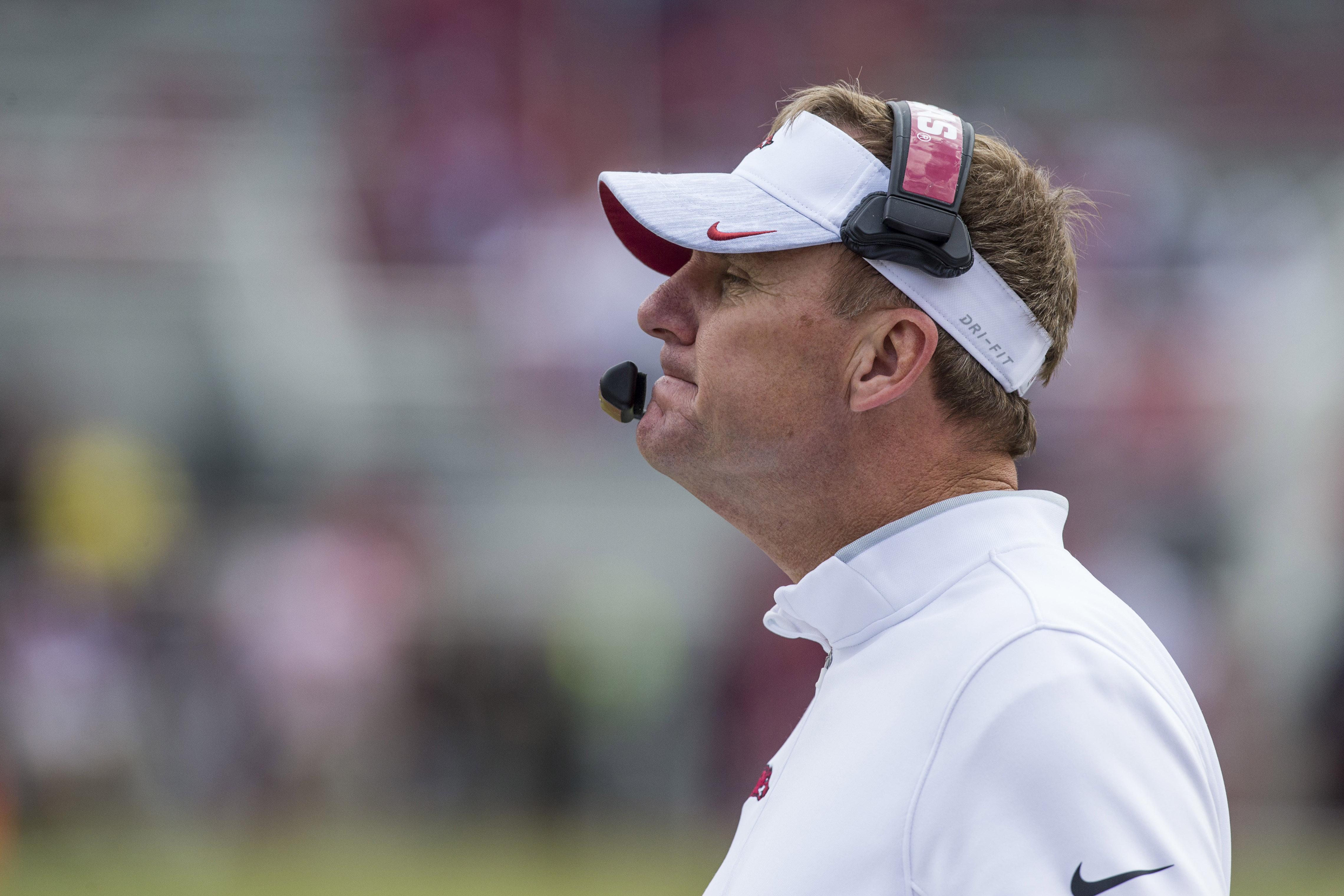 VIDEO: Chad Morris on playing at Alabama, Colton Jackson's status and more