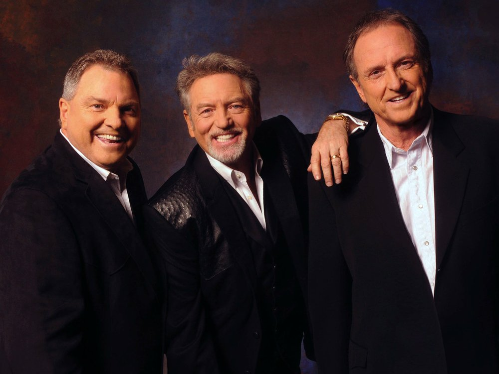 The Gatlin Brothers -- (from left) Steve Gatlin, Larry Gatlin and Rudy Gatlin -- perform Saturday at East Arkansas Community College in Forrest City.