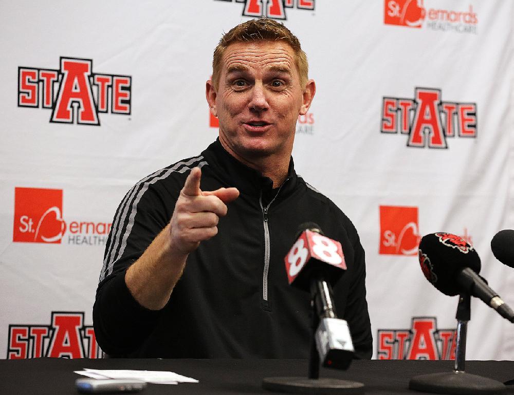 WATCH LIVE: ASU football coach Blake Anderson at Little Rock Touchdown Club