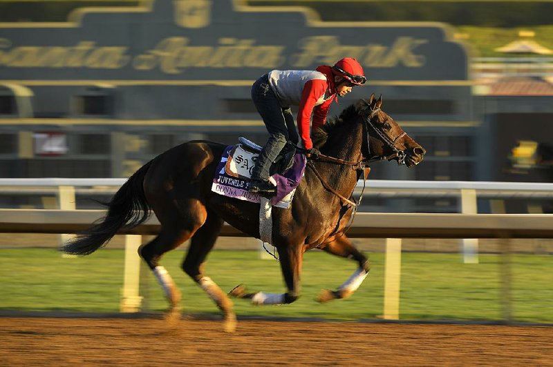 Breeders Cup First Day Highlighted By Juvenile