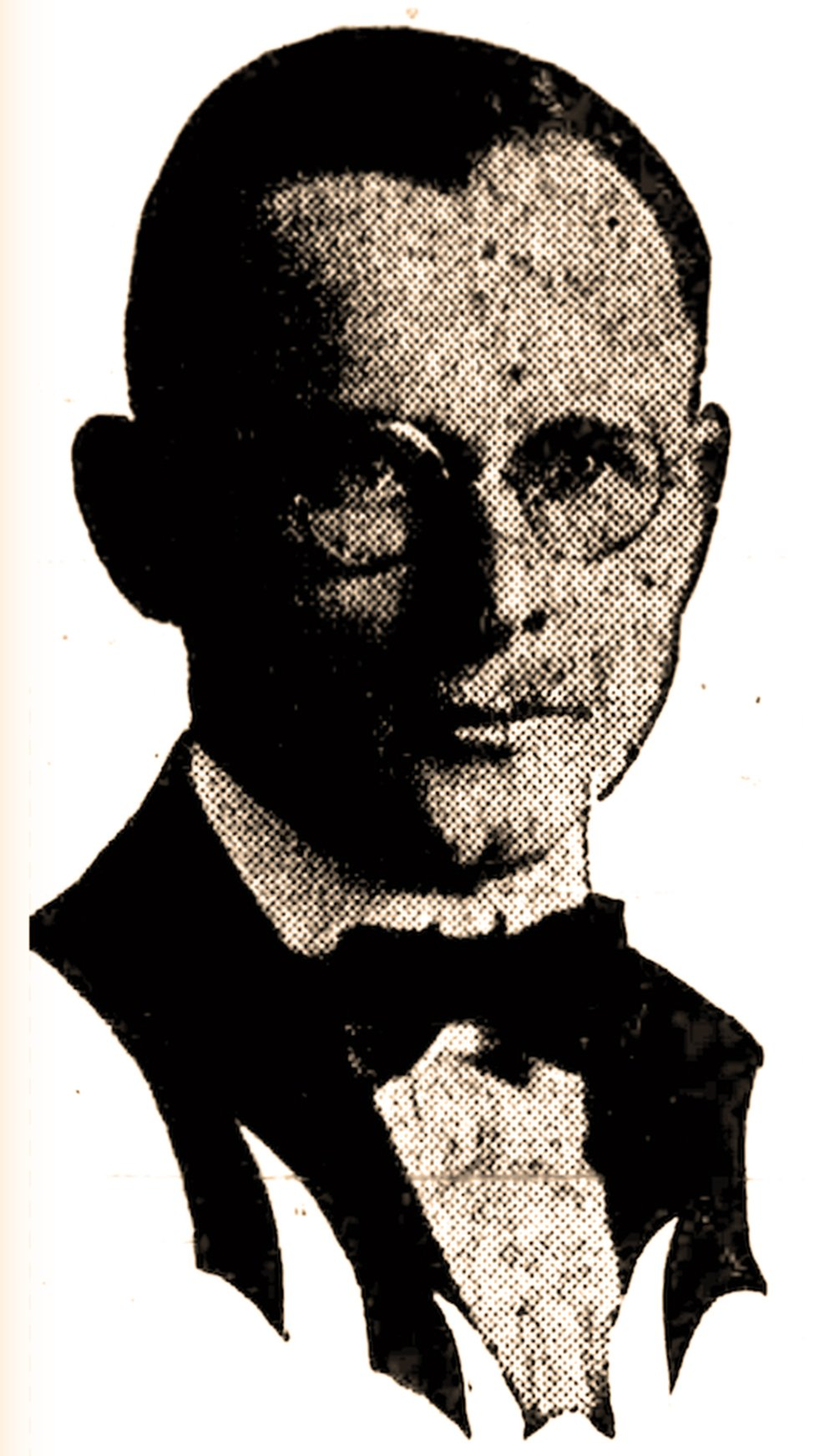 This photo of Arkansas Democrat editorial writer Paul R. Grabiel is from his campaign ad in the July 20, 1922, Arkansas Gazette. (Arkansas Democrat-Gazette)