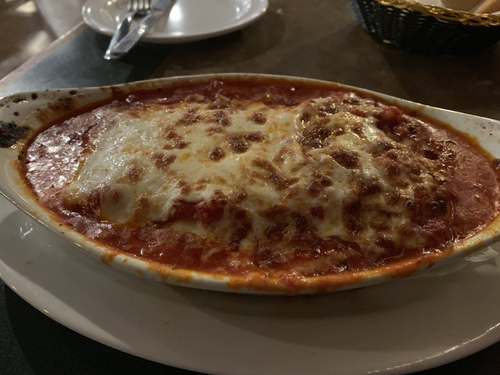 Get a load of the lasagna at Milano's Italian Grill in Maumelle: The restaurant is currently closed for renovation, new menu and change of ownership. Arkansas Democrat-Gazette/Eric E. Harrison