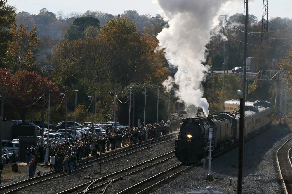 PHOTOS/VIDEO: Largest operating steam locomotive in world