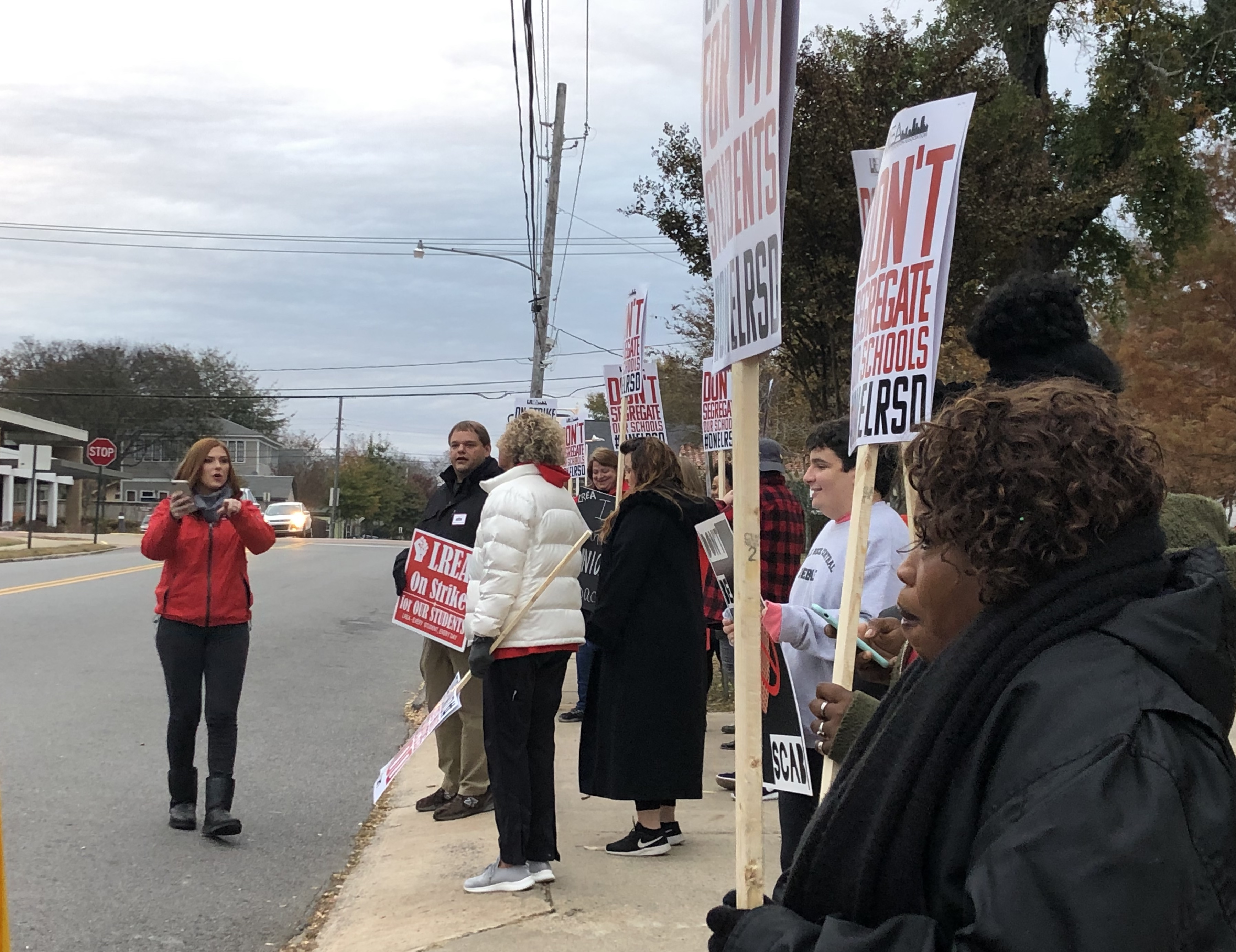 LATEST ON TEACHER STRIKE: Picket lines form at Little Rock School District campuses