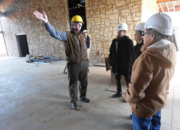 Nature center's construction on show in Springdale - Northwest Arkansas Democrat-Gazette
