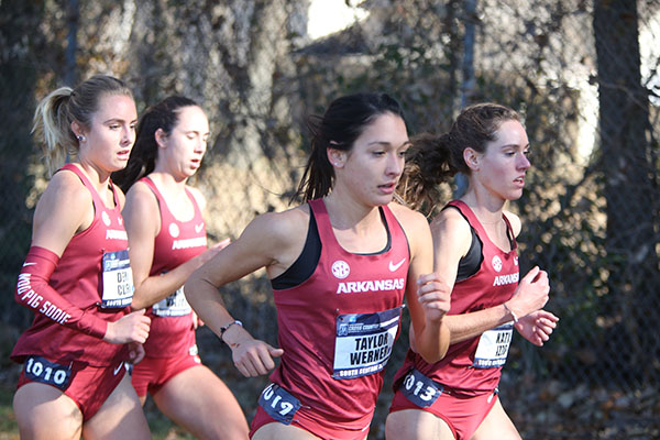 UA women's cross country team poised to make history