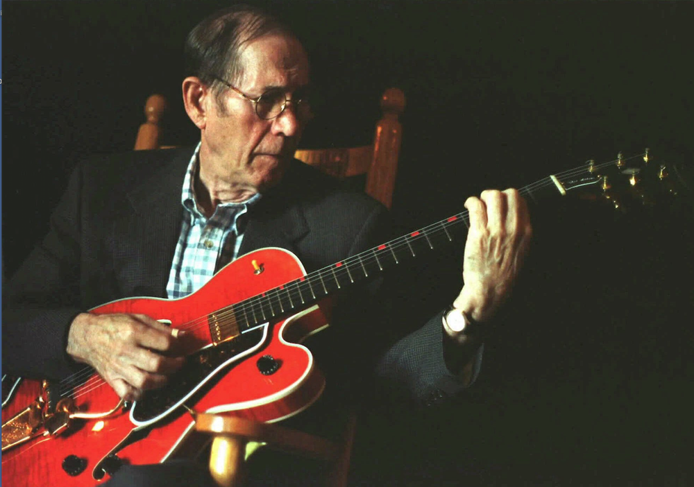 The Christmas music of Chet Atkins, whose fingerpicking style has been an inspiration to generations of guitar players, has been compiled for a two-CD set.  (AP
