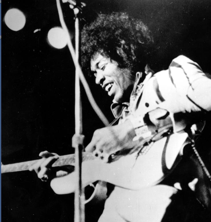 Jimi Hendrix, circa 1970 (AP)