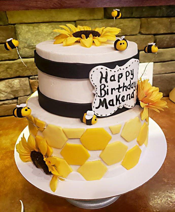 Astonishing Blissful Bakery Creates Cake Confections Funny Birthday Cards Online Inifofree Goldxyz