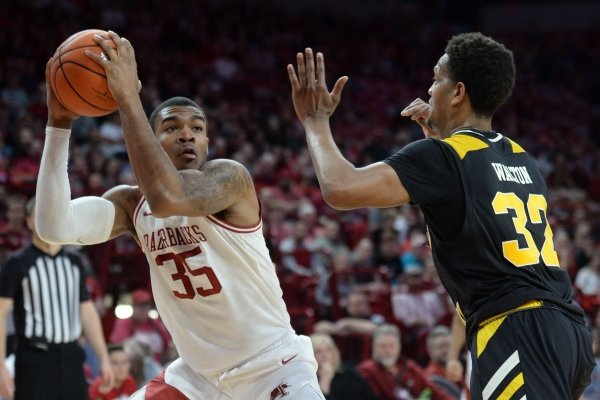 Arkansas and Northern Kentucky Saturday, Nov. 30, 2019, in Bud Walton Arena. Visit nwadg.com/photos to see more photographs from the game.