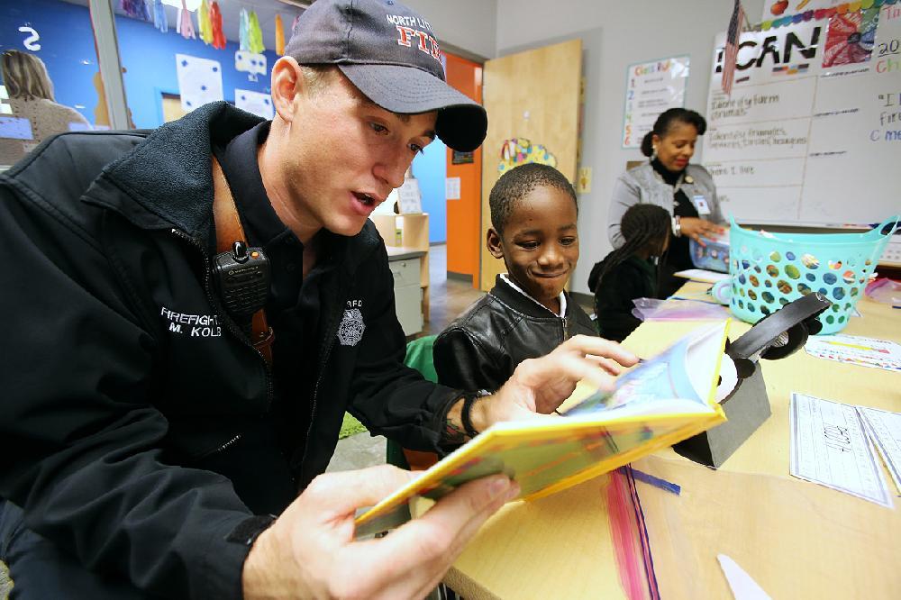 North Little Rock reading program puts books in hands of kids
