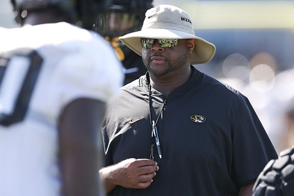 Brad Davis has spent five seasons coaching offensive line in the SEC, most recently for two years at Missouri.
