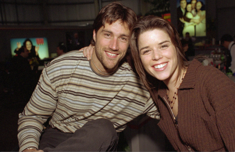 Matthew Fox and Neve Campbell of the FOX series Party of Five, which aired in the 1990s.  (AP)