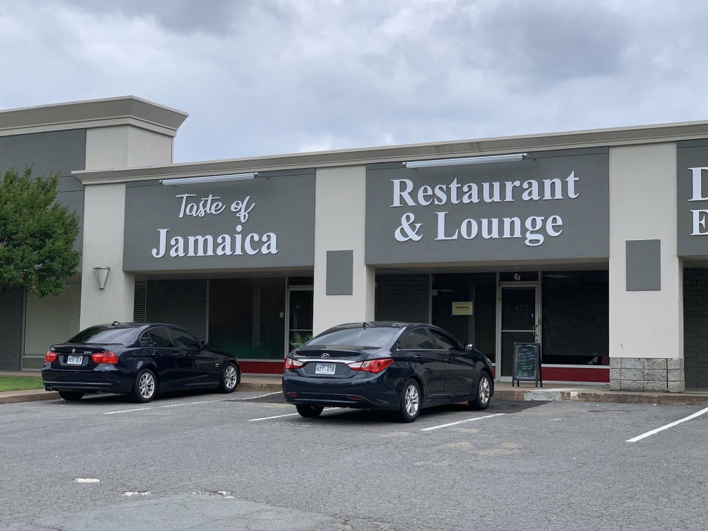 "Taste of Jamaica on North Rodney Parham Road in Little Rock is appealing to customers to stave off what its owners predict will be ""possibly be our last few weeks serving the community."" (Democrat-Gazette file photo/Eric E. Harrison)"
