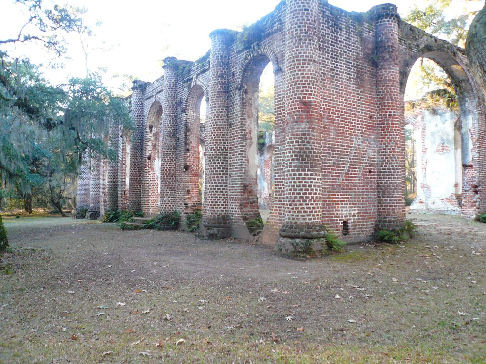 The Old Sheldon Church -- now in ruins -- was the first attempt in America to replicate a Greek temple. (TNS/Discover South Carolina)