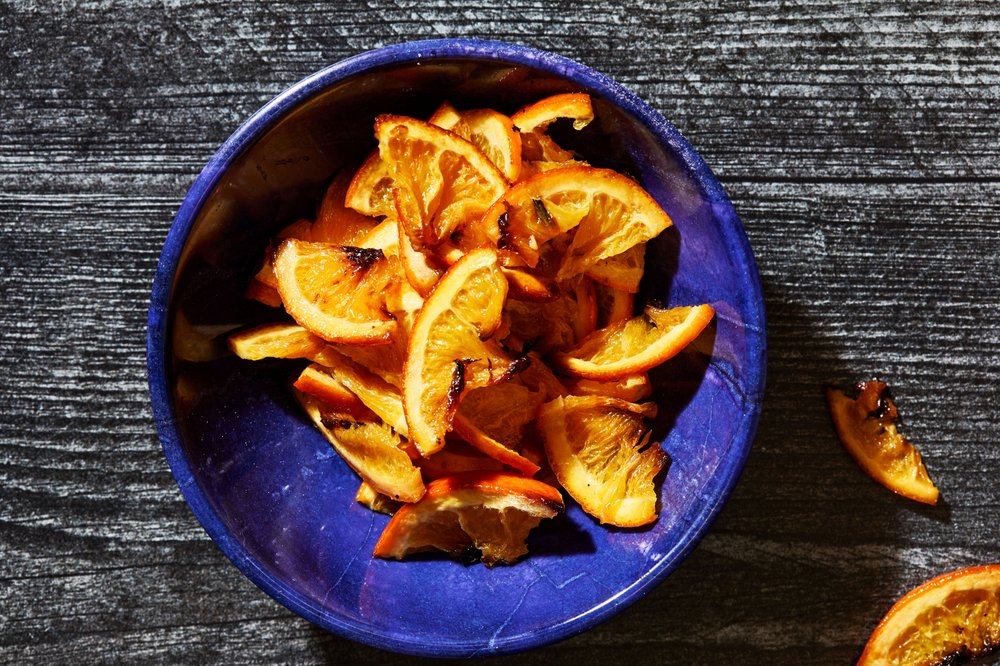 Roasted Orange Slices  (For The Washington Post/Stacy Zarin Goldberg)