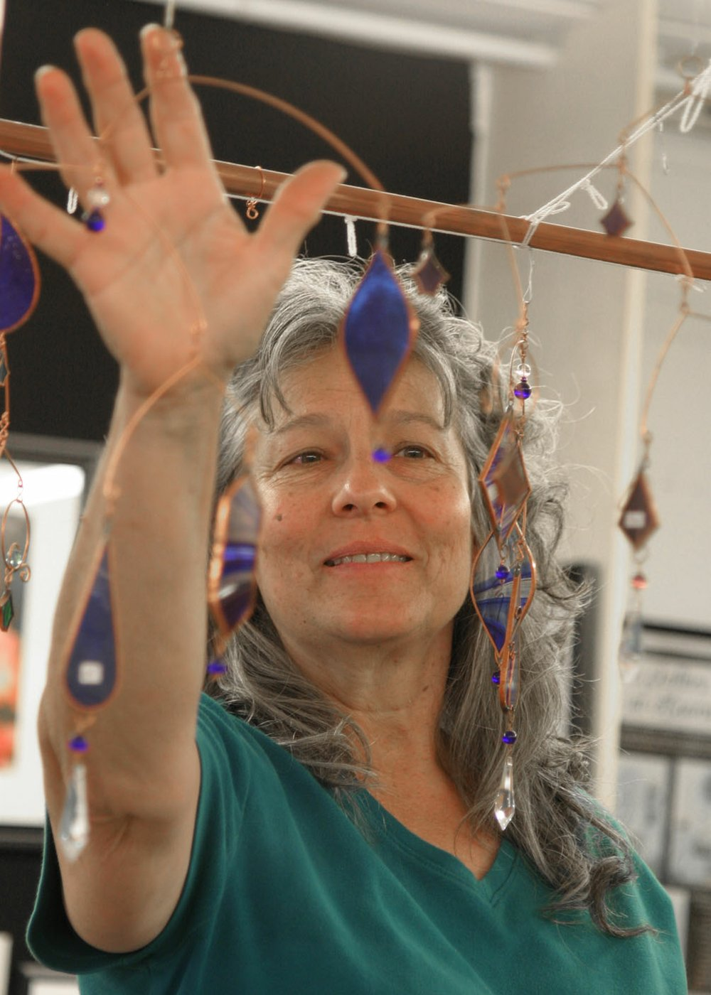 Anita and Edward Hejtmanek brought together their creative talents and their heart for the community in Heartwood Gallery, which operated in south Fayetteville for 19 years. The artists' cooperative closed Dec. 31. (NWA Democrat-Gazette / File Photos)