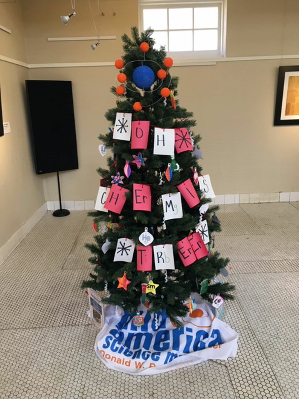 """Mid-America Science Museum's Science After School program's """"ChemisTree"""" was the winner in the nonprofit category. - Submitted photo"""