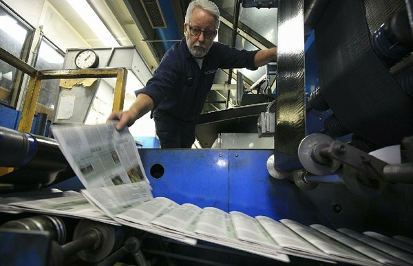 Democrat-Gazette ending weekday delivery; last papers to go on porches today