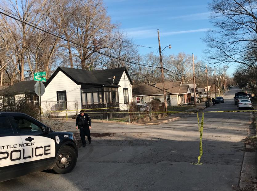 Police investigate double homicide in Little Rock