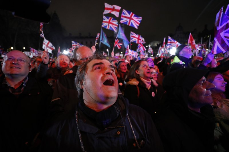 Image result for brexit celebration across britain