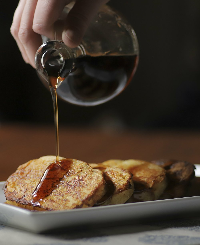 Houskove Knedlik, a Czech Bread Dumpling, makes excellent French toast  (Arkansas Democrat-Gazette/John Sykes Jr.)