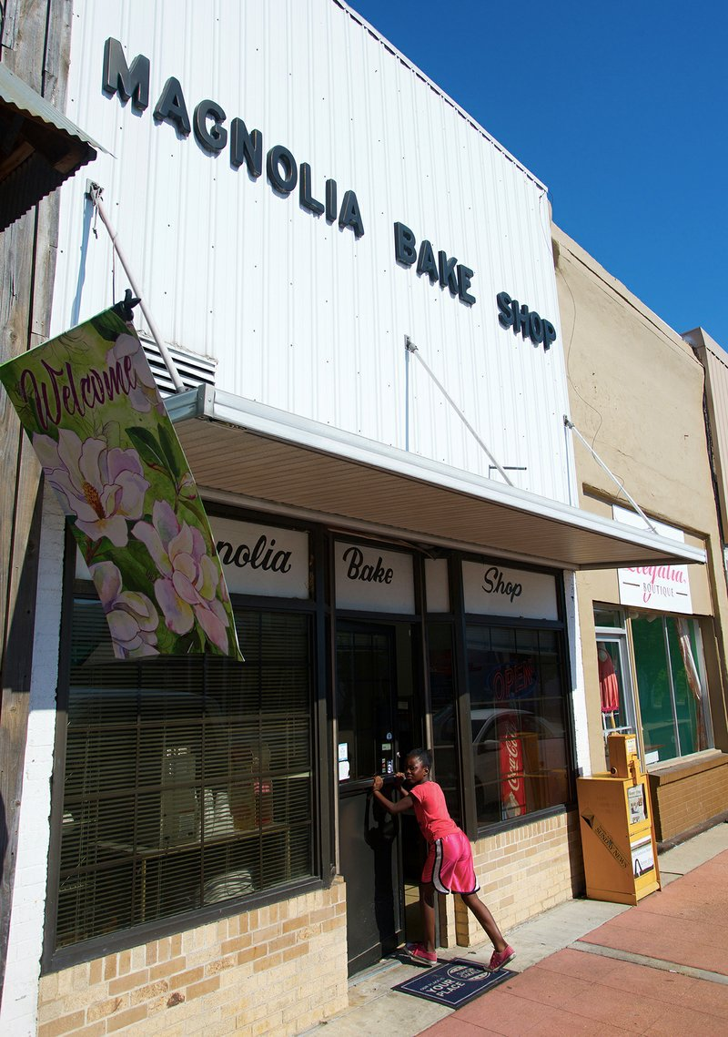 A June 21, 2018, Banner-News file photo shows the exterior of Magnolia Bake Shop.