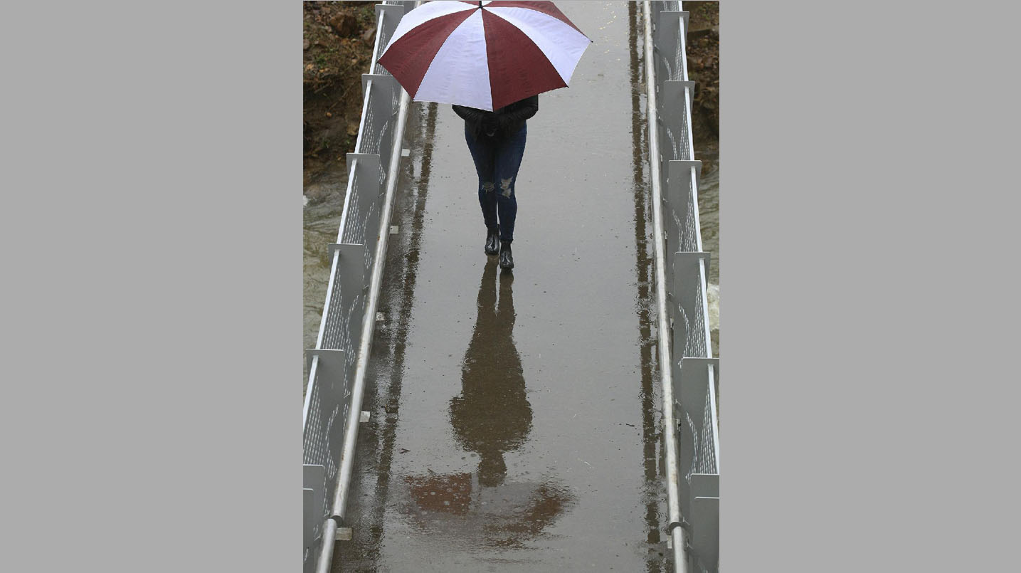 State's soggy; year's rainfall double norms