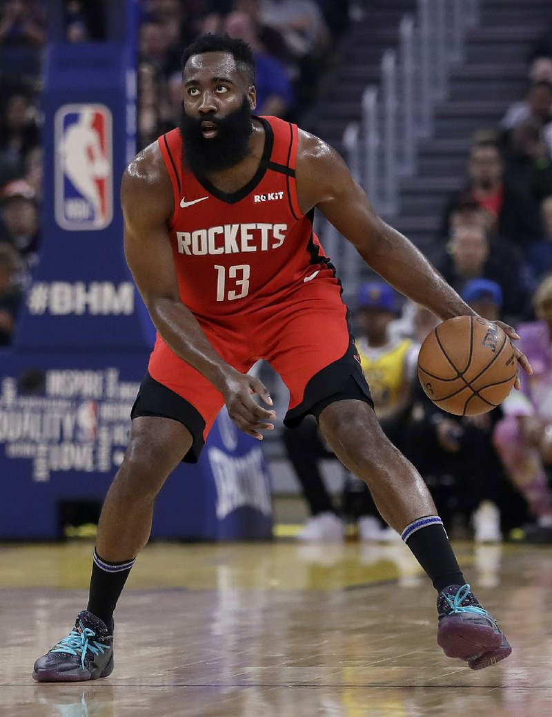 Harden upset about the wrong thing