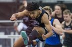 Isaiah Sategna, a freshman at Fayetteville, has been named the boys track Newcomer of the Year by the Northwest Arkansas Democrat-Gazette sports staff.