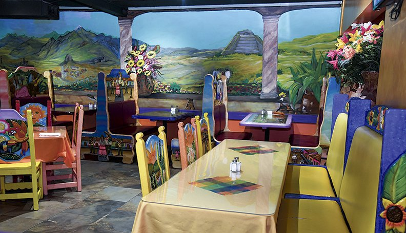 The interior of Jose's Mexican Grill and Cantina on Lake Hamilton is shown on February 19, 2020.-Photo by Grace Brown of The Sentinel-Record