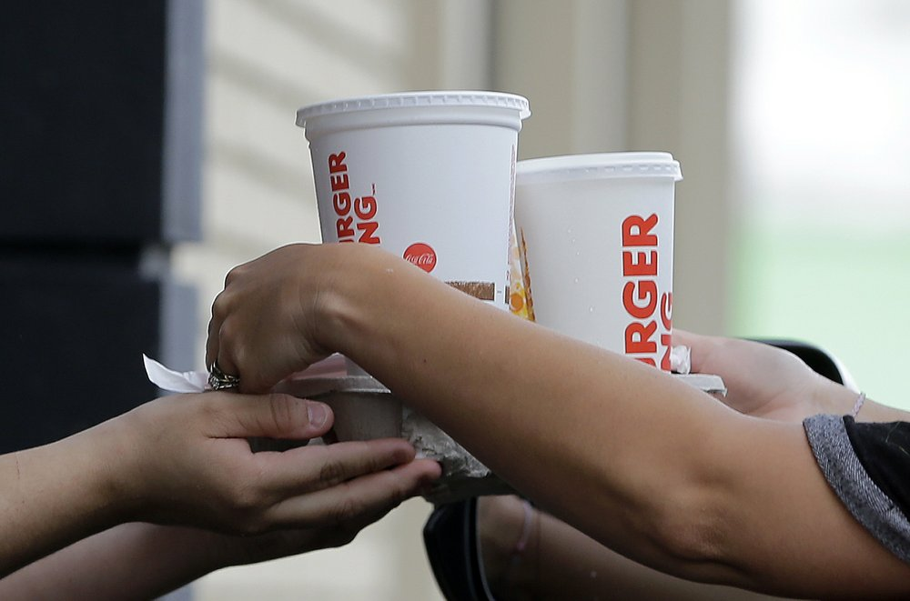 Drive-thru windows will be a primary source of restaurant commerce during the covid-19 health crisis.  (AP file photo)