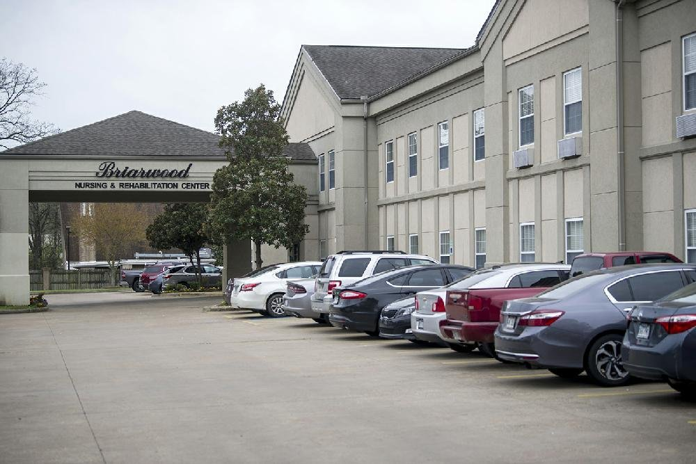 Briarwood Nursing and Rehabilitation in Little Rock is shown in this file photo. (Democrat-Gazette file photo)