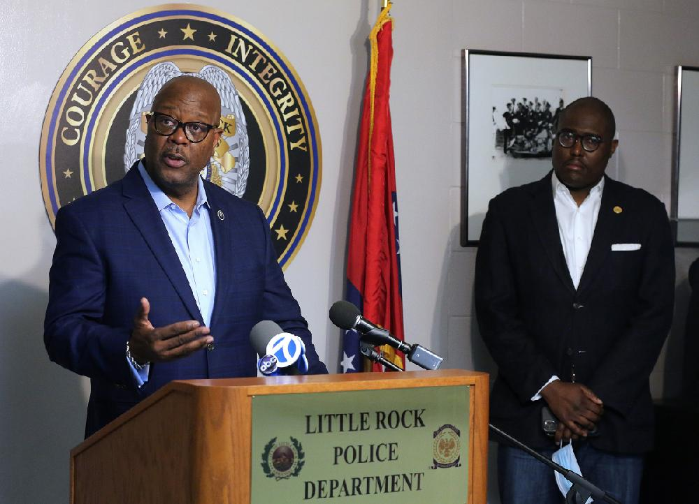 Little Rock, police chief need lawyers