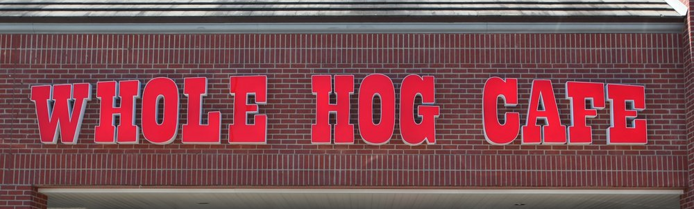 Whole Hog Cafe has reopened its two Little Rock outlets and the one in Bryant for take-out and will reopen limited dine-in service on Monday.  (Democrat-Gazette file photo)