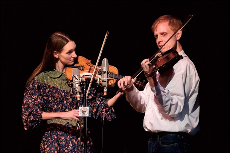 The Bow Tanglers are an old-time fiddle duo based out of central Arkansas. - Submitted photo
