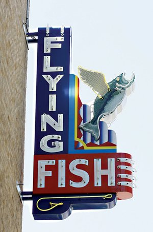 Flying fish little rock for Flying fish little rock