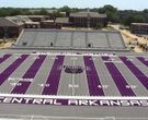 UCA gets new, colorful turf