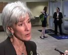 Sebelius speaks at Pulaski Technical College
