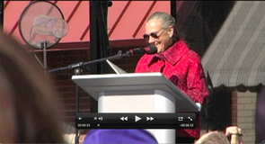 Alice Walton speaks Friday afternoon at the opening ceremonies for the Crystal Bridges Museum of American Art in Bentonville.