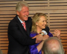 Clintons return to LR to open new exhibit