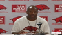 Arkansas coach Mike Anderson previews the Razorbacks' upcoming game against Robert Morris.