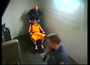 "Video captured at the Benton County Jail of an incident that <a href=""http://www.nwaonline.com/news/2013/feb/11/sheriff-fired-deputies-pepper-sprayed-restrained-i/?latest"">led to three jailers being fired.</a> The video shows an inmate in a restraint chair being pepper sprayed, which may be disturbing to some viewers. The mark on the inmate's cheek is visible in an earlier video of him being booked into the jail."