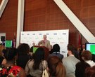 Clinton announces Kiva Little Rock