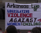 Hundreds protest for women's rights at state Capitol
